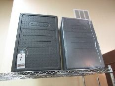 """CAMBRO 16""""X24""""X12"""" THERMAL INSULATED CARRIERS, M/N EPP180"""