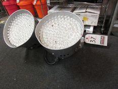 CHAUVET LED ELEC. SPOT/STROBE LIGHTS, M/N LED RAIN 56 RGB