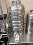 AERVOID 10 GAL. S.S. 1-SPIGOT THERMAL DRINK DISPENSSER