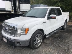 2010 FORD F150 LARIAT, AT, AC, 5.4L TRITON V8 ENGINE, FULL POWER, 4X4, CREW CAB, LEATHER INTERIOR,
