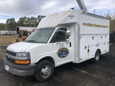 2007 CHEVY EXPRESS CG3350 UTILITY TRUCK/VAN, AT, AC, 6.0L - V8 ENGINE, FULL POWER, 12' UTILITY BODY,