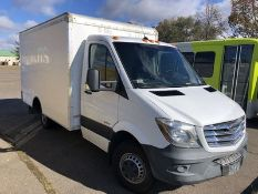 2014 FREIGHTLINER SPRINTER 3500, 2-DOOR CUT-AWAY CHASSIS, AT, AC, PW, 3.0L TURBO DIESEL ENGINE,