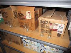 ASS'T IRISH COFFEE MUGS & PILSNER GLASSES