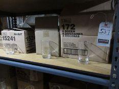 ASS'T HI-BALL, ROCKS & COCKTAIL GLASSES