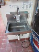 ADVANCE TABCO S.S. HAND SINK