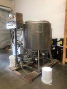 Used-135 Gallon Mondini Commercial Kettle Cooker. Model VS/A.
