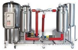 Unused- Pinnacle Stainless Alcohol Extraction Skid. 200 L Capacity. Cold Clean Ethanol Extraction. 3