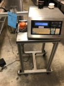 PrintJet Maxima EZ Plus Date Coder S/N PJ-10-10-110349. (SUBJECT TO THE BULK BID ON LOT 4)