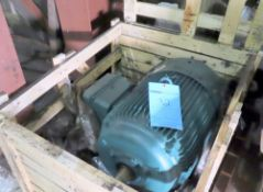 Unused Leeson 100hp motor