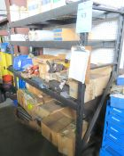 Shelving Unit With Miscellaneous Contents