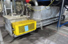 TRAMCO Dual Lane Drag Chain Conveyor