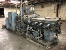 """4 1/2"""" Sterling Single Screw Extruder - Water Cooled - PVC"""