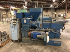 """2 1/2"""" Sterling Single Screw Extruder - Water Cooled - PVC"""