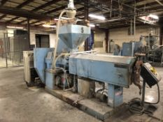 """3 1/2"""" Sterling Single Screw Extruder - Water Cooled - PVC"""