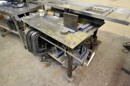"48"" X 33"" Portable Steel Welding Table"