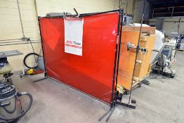 Pair Of Welding Screens