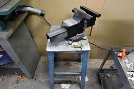 "8"" Bench Vise (pedestal Mounted)"