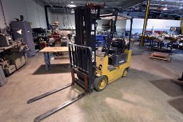 Caterpillar model GC15 LPG forklift truck, s/n 2EM01737