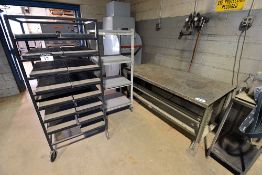 Steel Work Table & Metal Racks