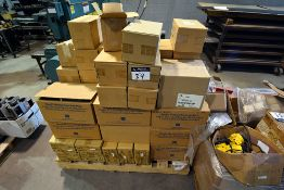 Pallet containing Bellows metering pumps, March pump assembly,
