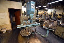 "Hurco KMB1 CNC Vertical Milling Machine, 38"" Table, s/n K-8007082-B"