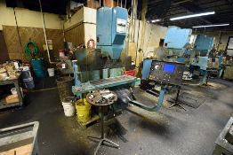 "Hurco KMB1 CNC Vertical Milling Machine, 38"" Table, s/n KX-8002104-D"