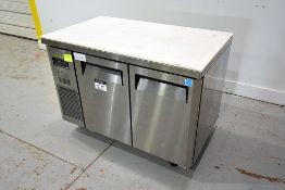Turbo Air 2-Door S/S Refrigerated Portable Cabinet