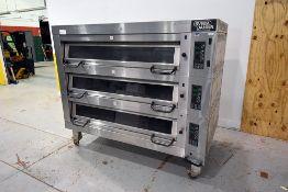 Sveba Dahlin Triple-Stack Gas Oven