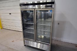 Turbo Air Commercial S/S 2-Glass DoormRefrigerator