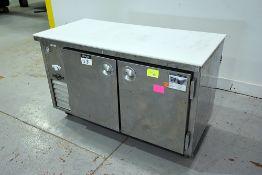 Universal Coolers 2-Door S/S Refrigerated Cabinet
