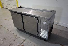 2-Door S/S Refrigerated Cabinet (Open Top)