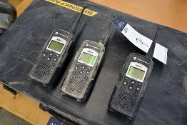 Motorola DTR650 Digital on-site portable radio