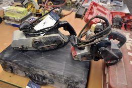 {LOT} B&D 7451 &Porter Cable 352vs Electric Belt Sanders