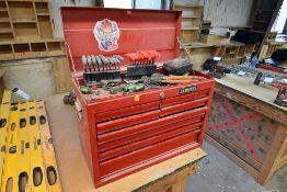 {LOT} Husky 8 Drawer Mechanics Tool Chest - Filled