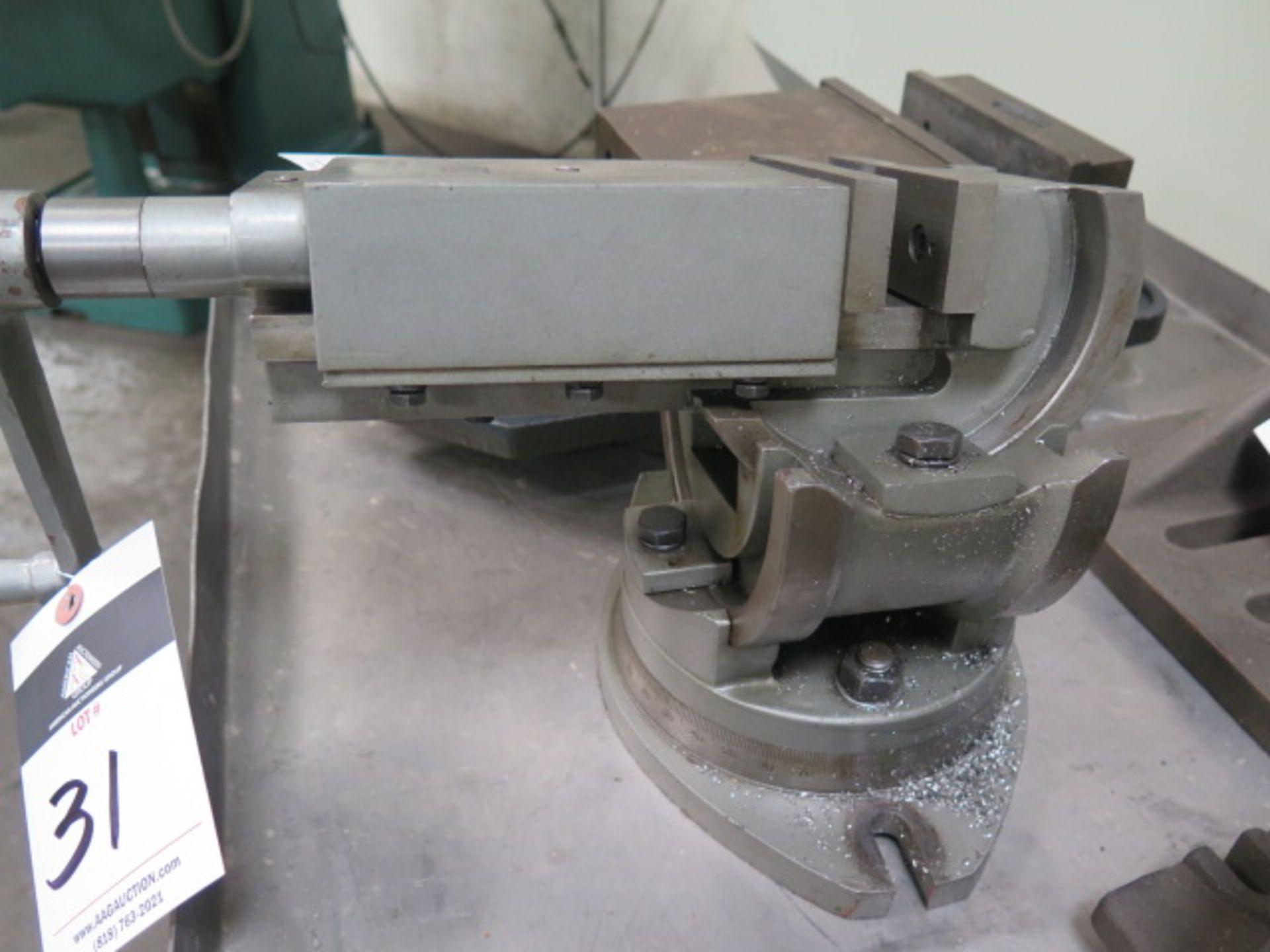 """Lotto 31 - Wilton 4"""" Compound Machine Vise"""