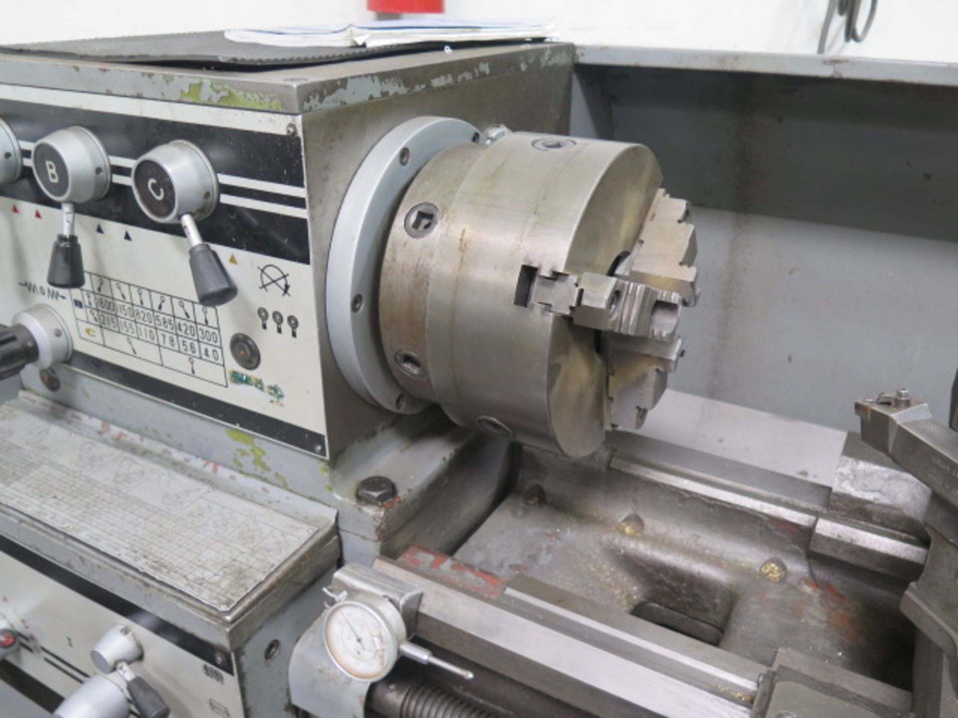 "Lotto 16 - Kinwa / Jet 1660 16"" x 60"" Geared Head Gap Bed Lathe s/n JW119 w/ 40-1600 RPM, 3"" Thru Spindle Bore,"