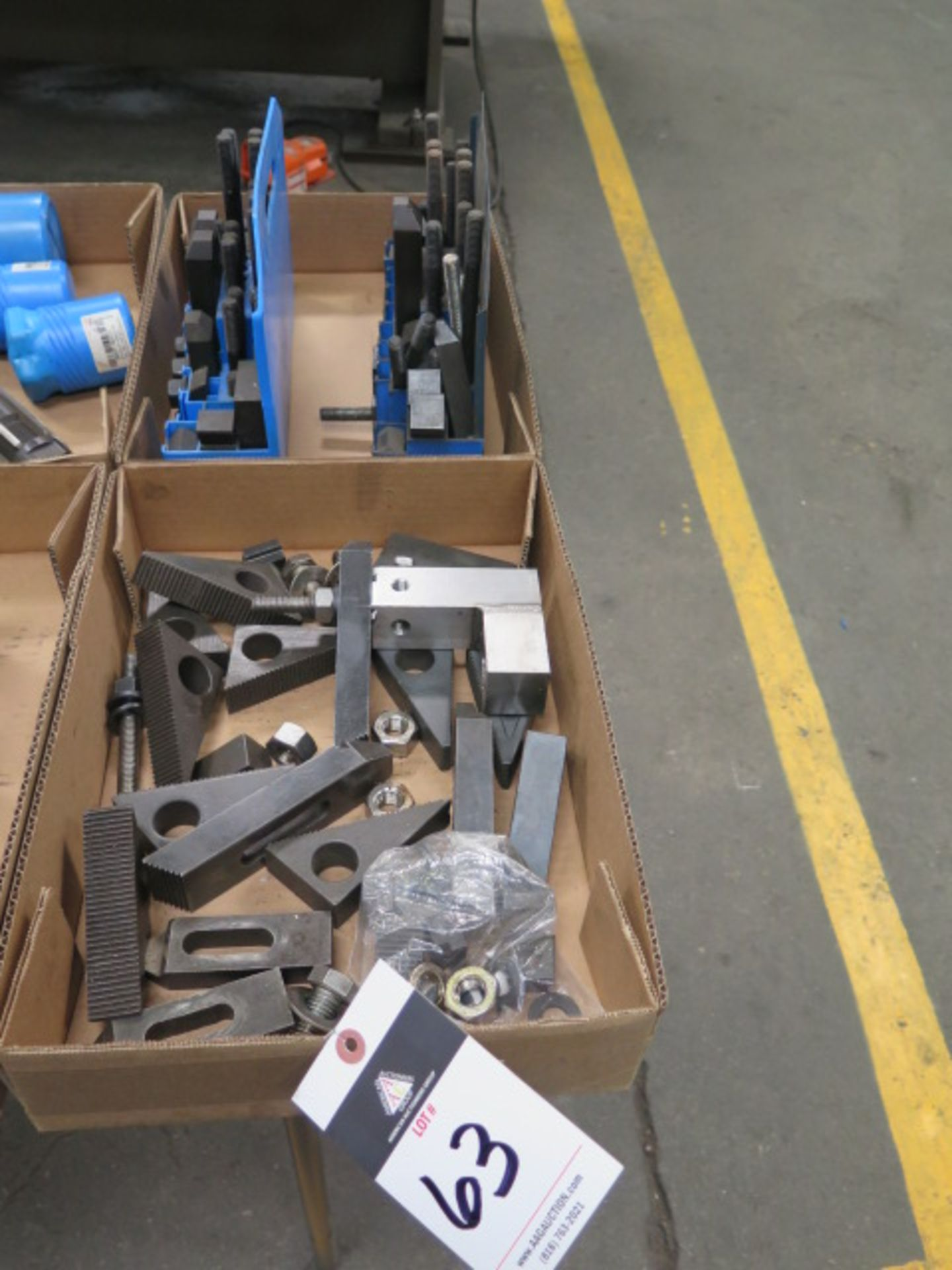 Lotto 63 - Mill Clamp Sets