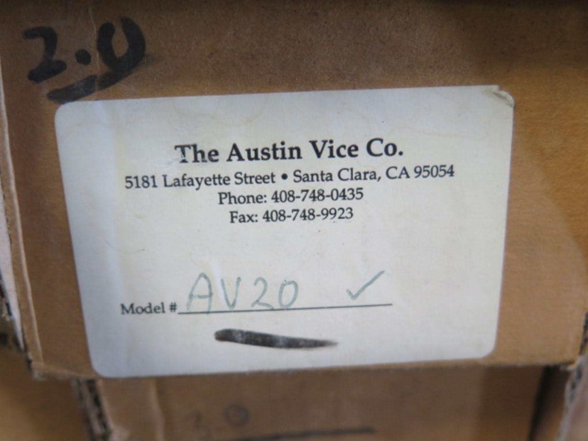 Lot 133 - Austin Vise Co Milling Fixtures (10)