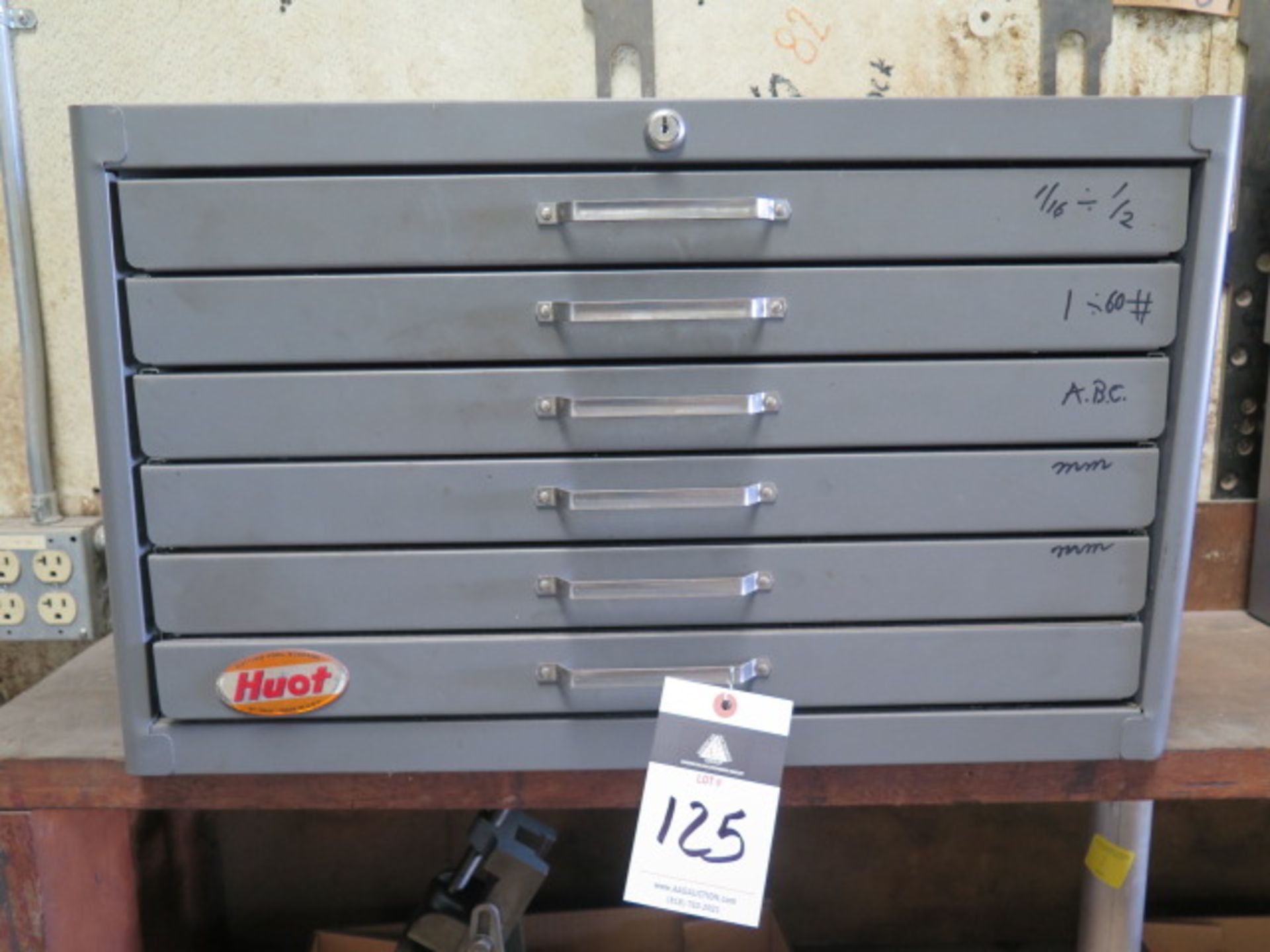 Lot 125 - Huot Drill Cabinet