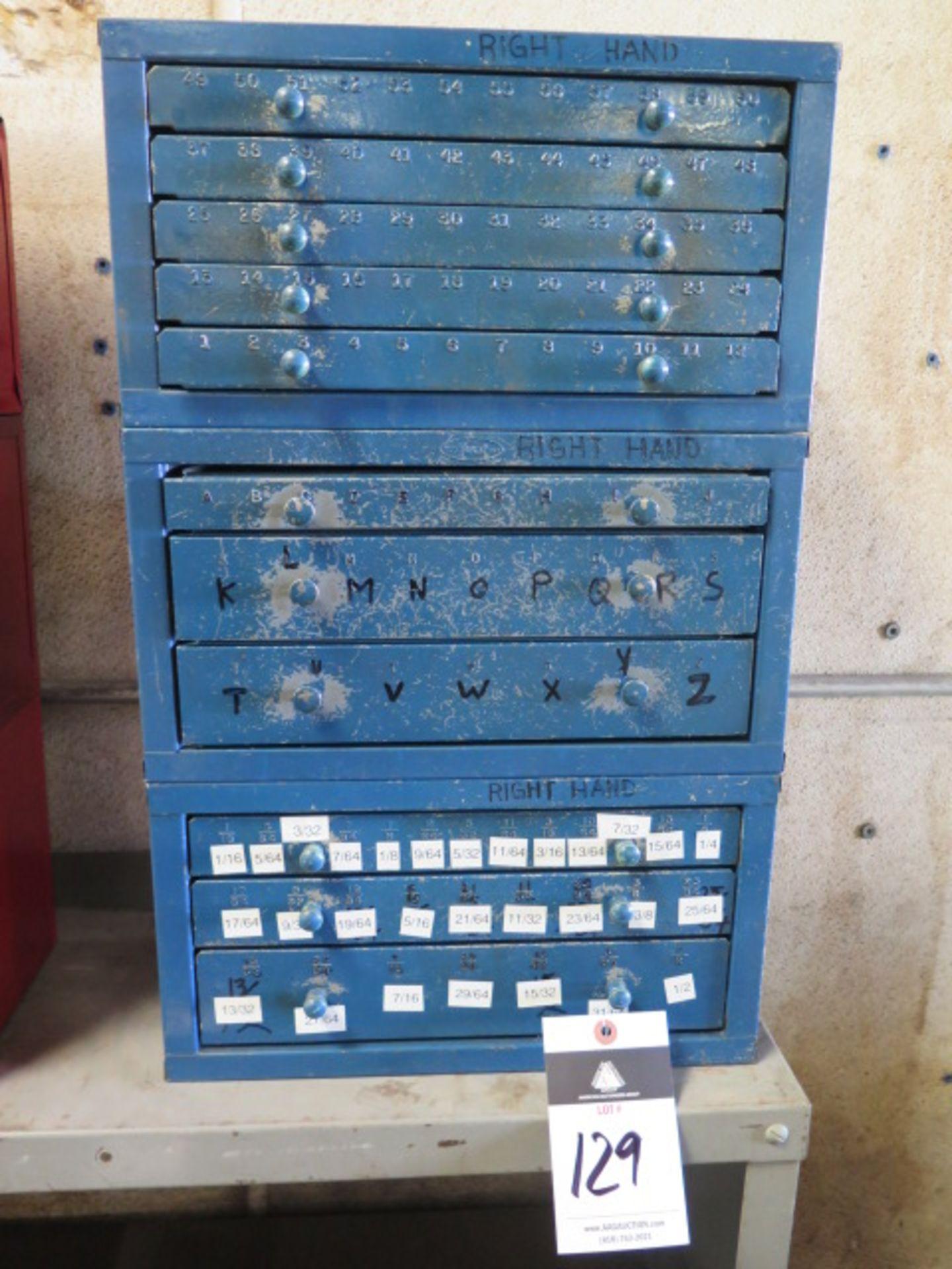 Lot 129 - Huot Drill Cabinets (3)