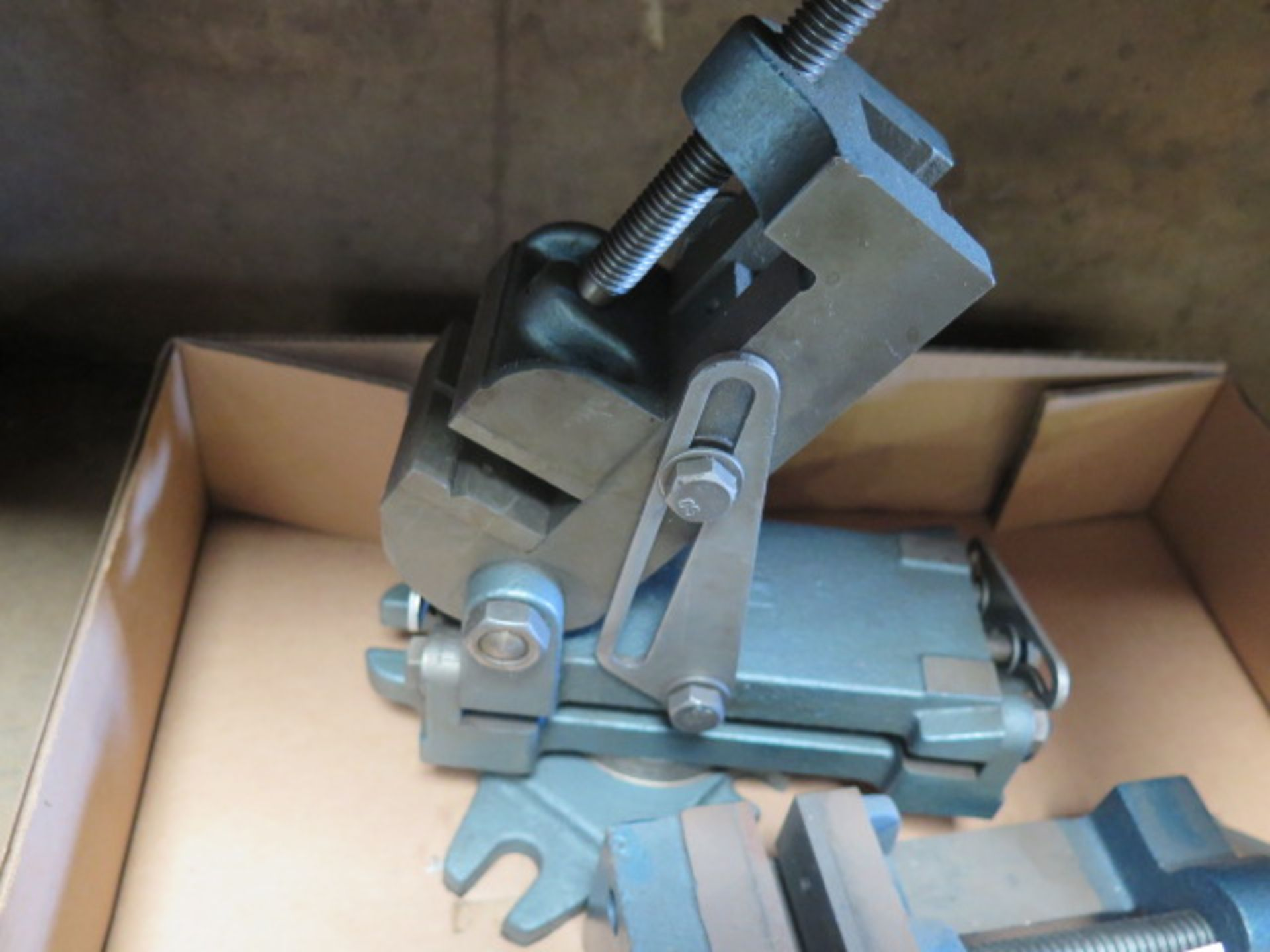 Lot 120 - Machine Vises (2)