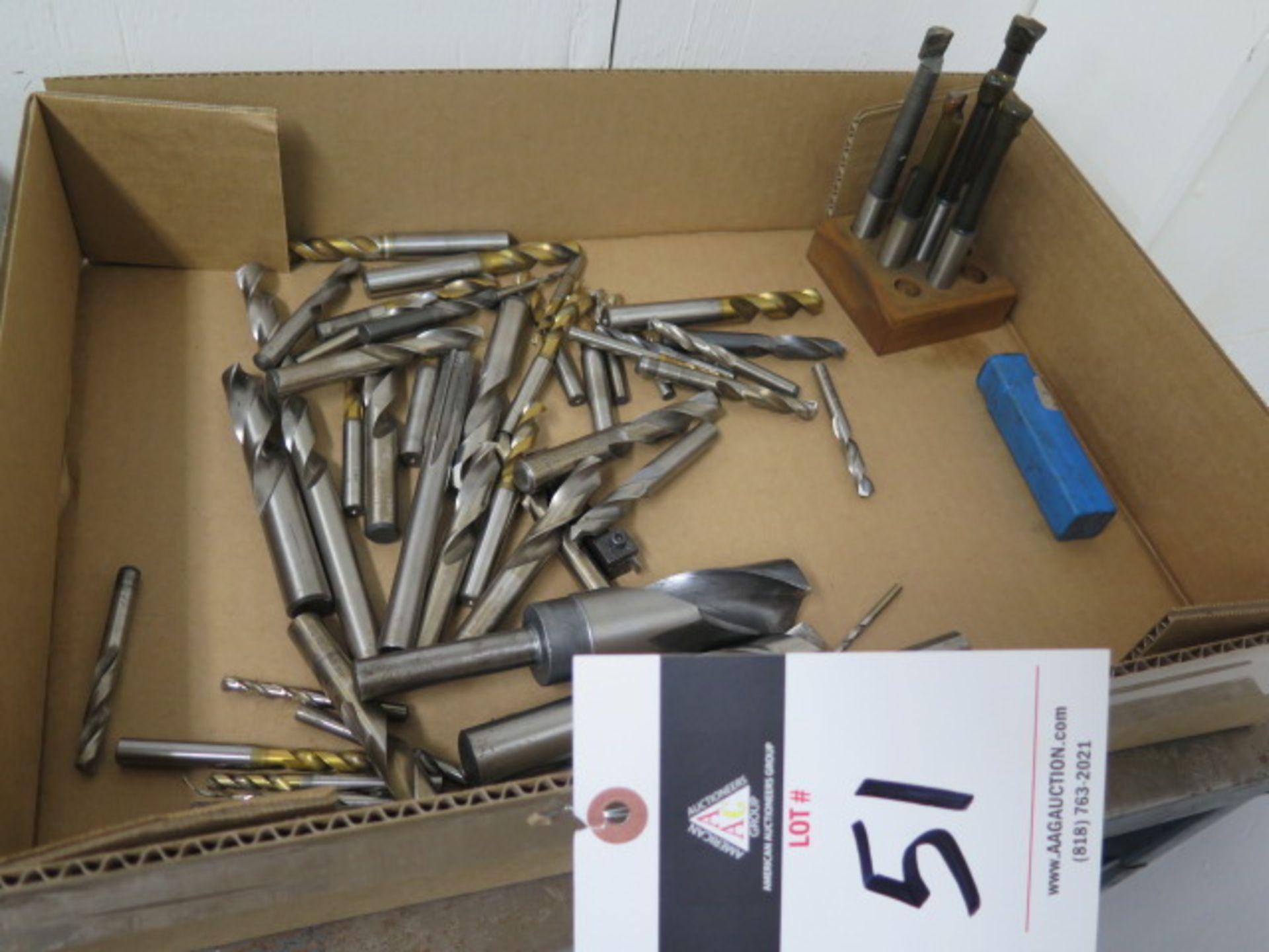 Lot 51 - Drills and Boring Bars
