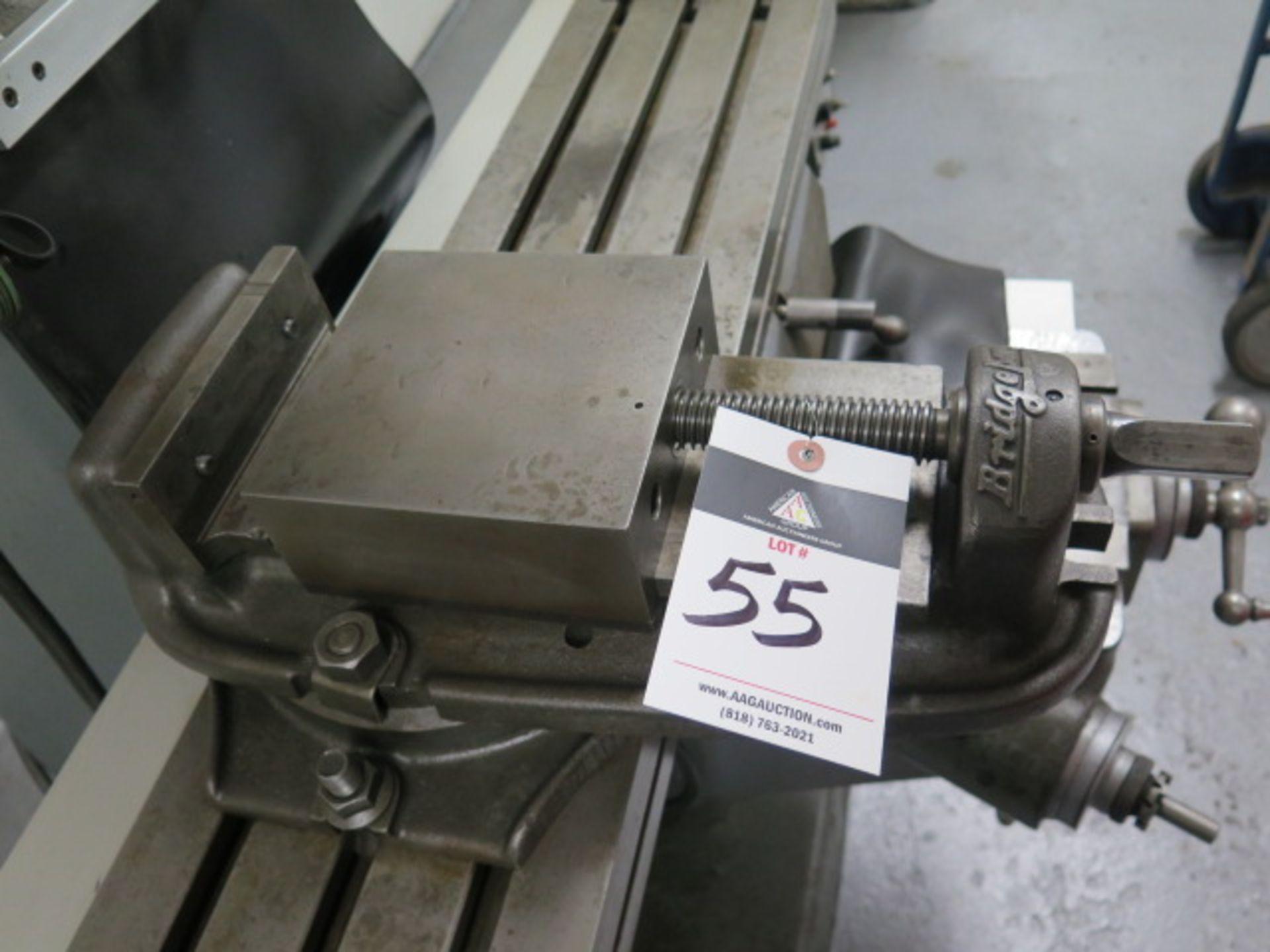 "Lot 55 - Bridgeport 6"" Machine Vise w/ Swivel Base"