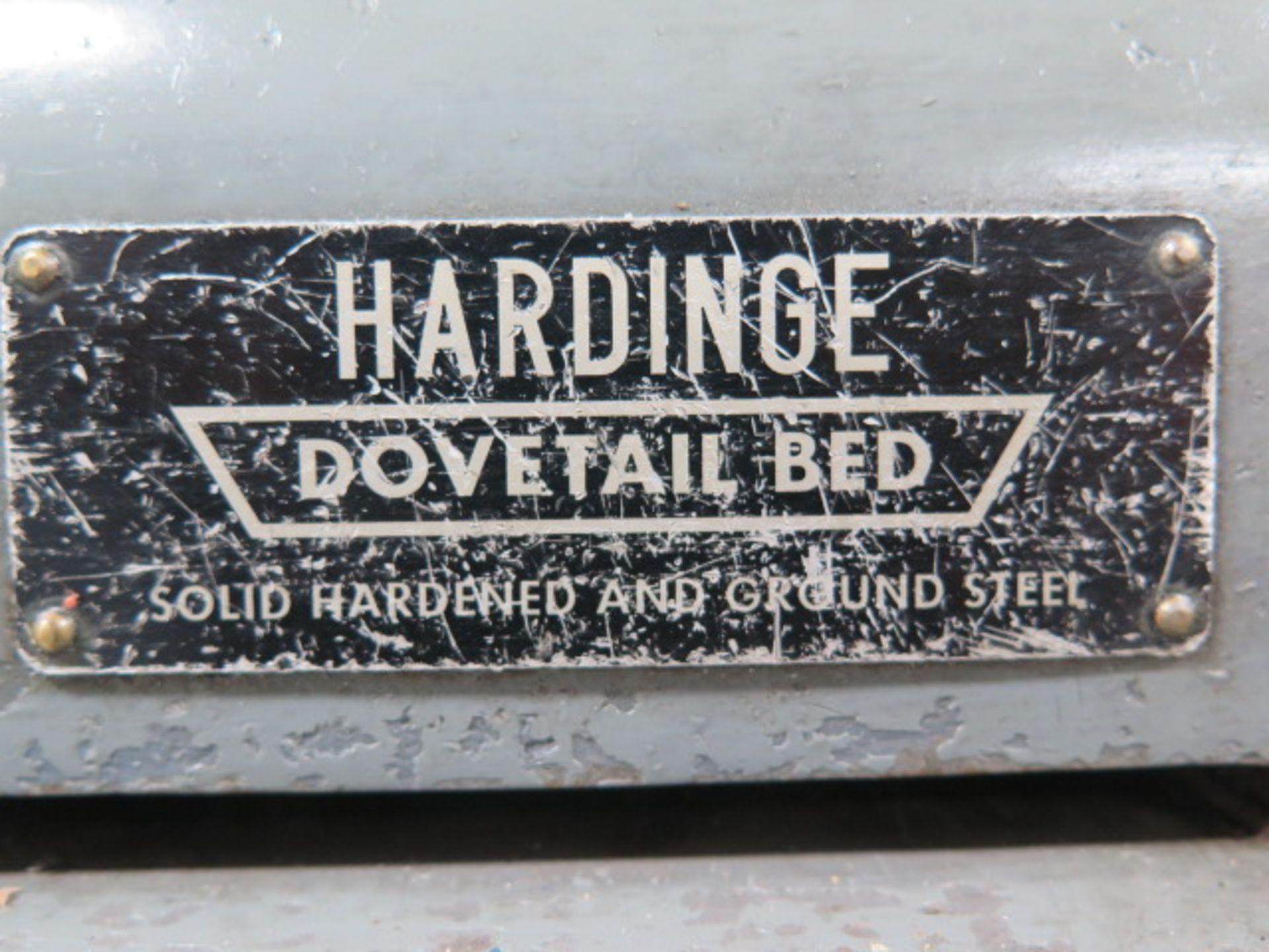 Lot 67 - Hardinge HSL Speed Lathe s/n HSL-5C-2408 w/ 3-Speeds, 5C Collet Closer