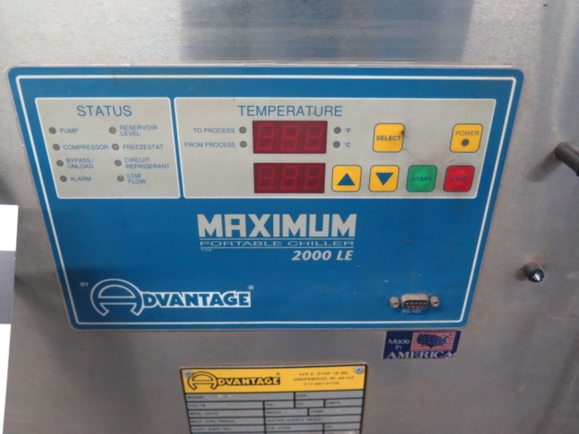 """Lot 74 - Advantage """"Maximum 2000 LE"""" mdl. MK-5W-21HR Process Chiller s/n 37985"""
