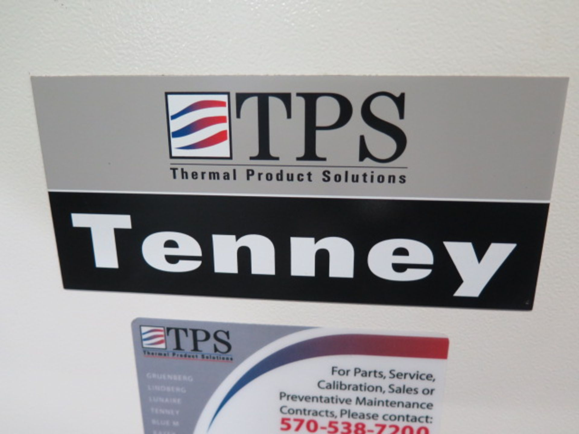Lot 89 - TPS Tenney mdl. BTRC -70 Deg C to 200 Deg C Thermal Chamber s/n 0801000056 w/ Tenney VersaTenn II