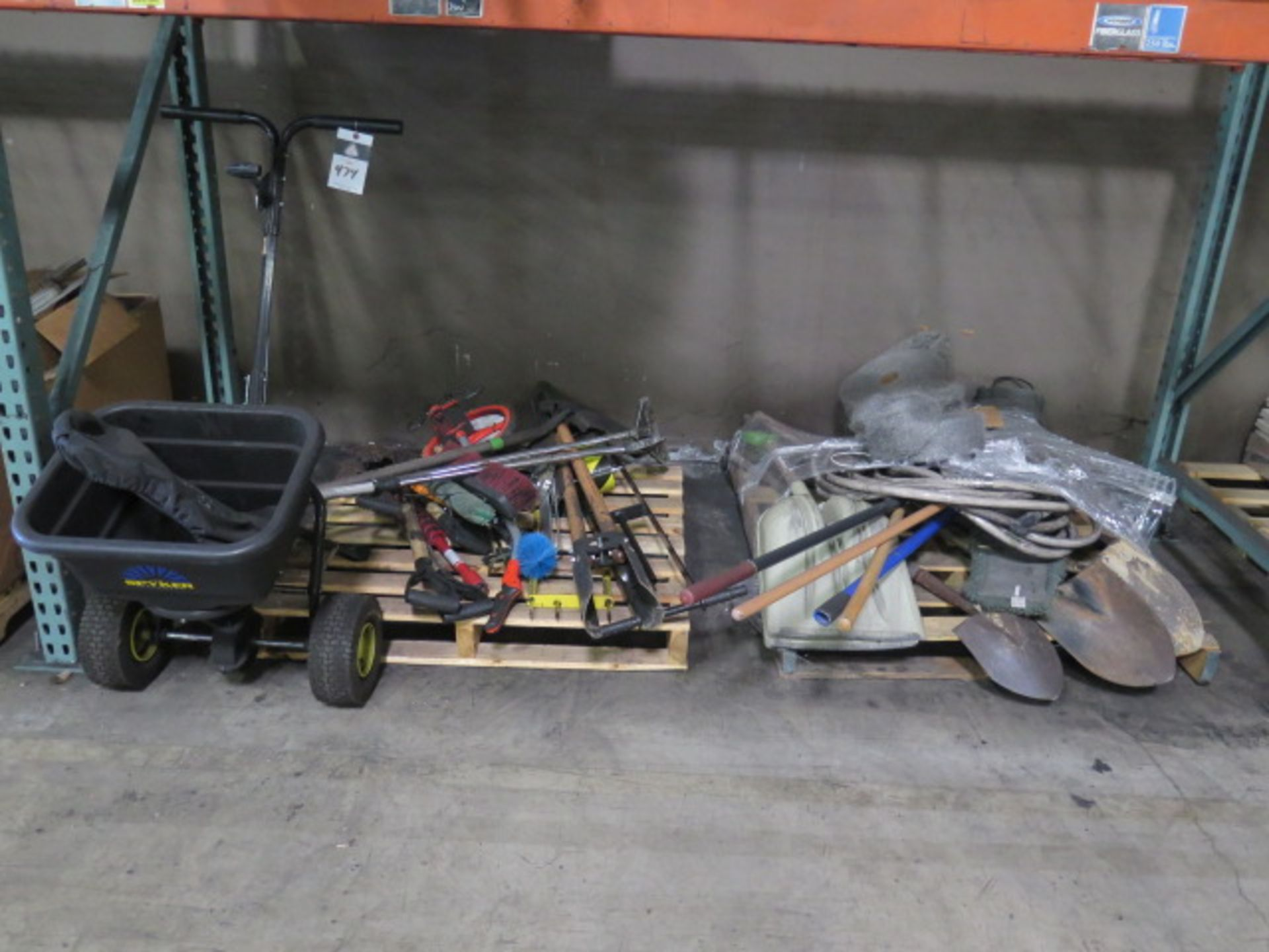 Lot 474 - Yard Tools, SOLD AS IS AND WITH NO WARARNTY