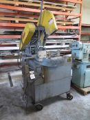 "Everett mdl. 20AA2220"" Abrasice Cutoff Saw s/n 6381-1 w/ Pneumatic Chain Clamping (SOLD AS-IS)"