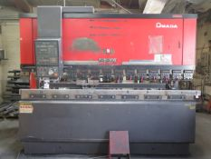 Amada FBD-1030E 100 Ton x 10' CNC Press Brake s/n 1030398 w/ Amada NC9-EX II Controls, SOLD AS IS