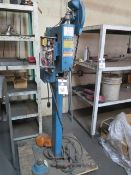 Adtech T-J Automatic Pneumatic Riveter (NEEDS WORK) (SOLD AS-IS AND WITH NO WARRANTY)